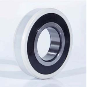 Electrically insulated bearing